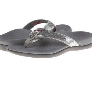 Vionic Tide Sequin Flip Flops